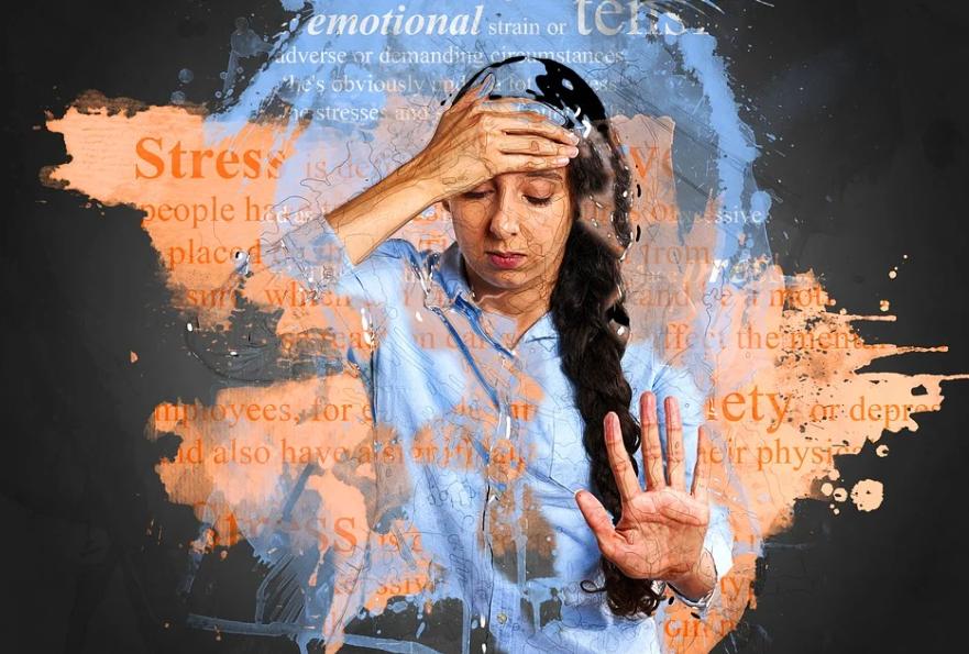 přepracování a stres